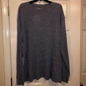 Men's Saddlebread long sleeve knit shirt size XL